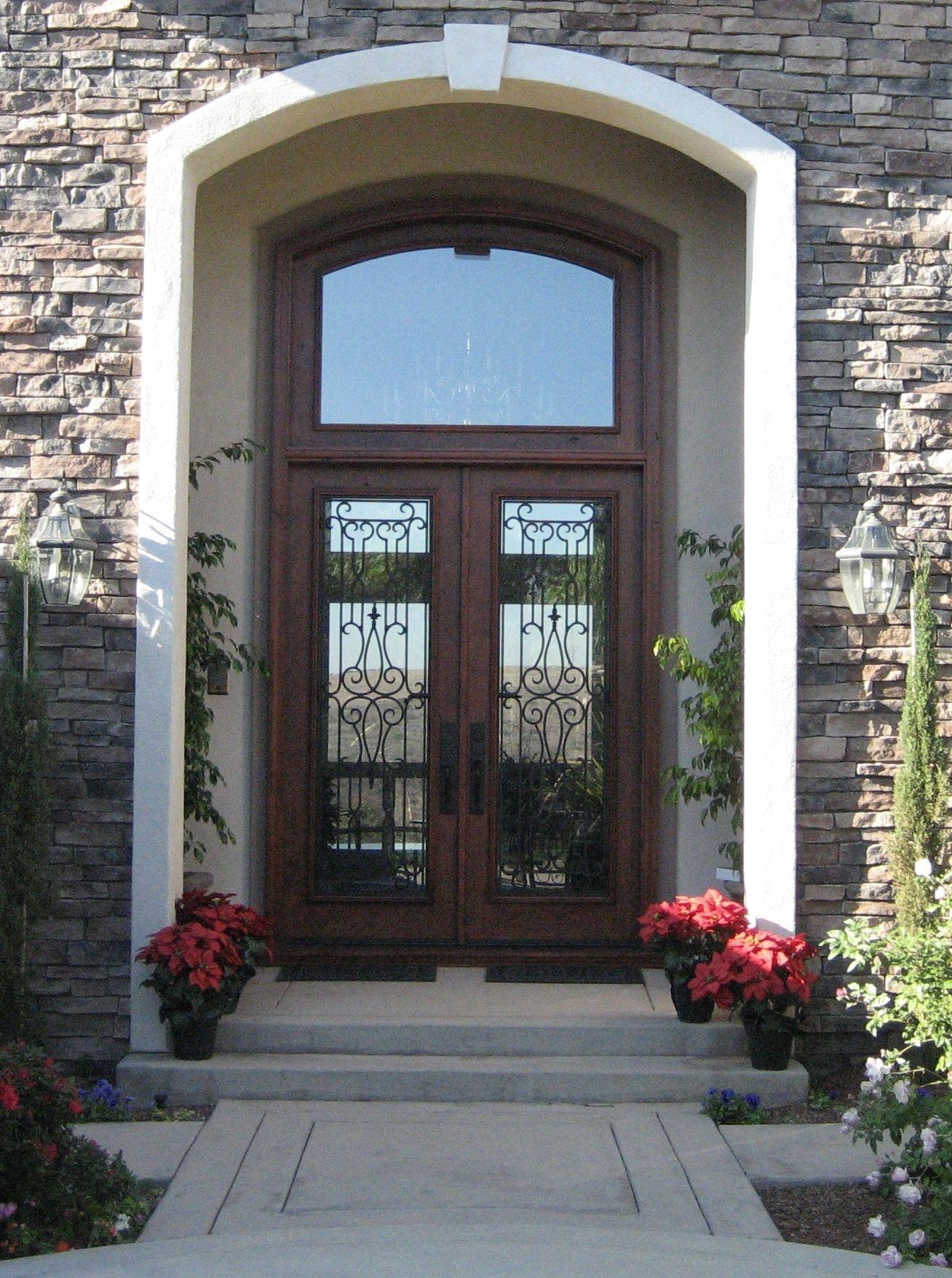 Custom Wood Door By Grand Entrances In San Diego Ca Front Doors