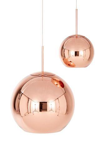 Copper Round Pendant Tom Dixon Copper Round Pendant Light Pendant Light