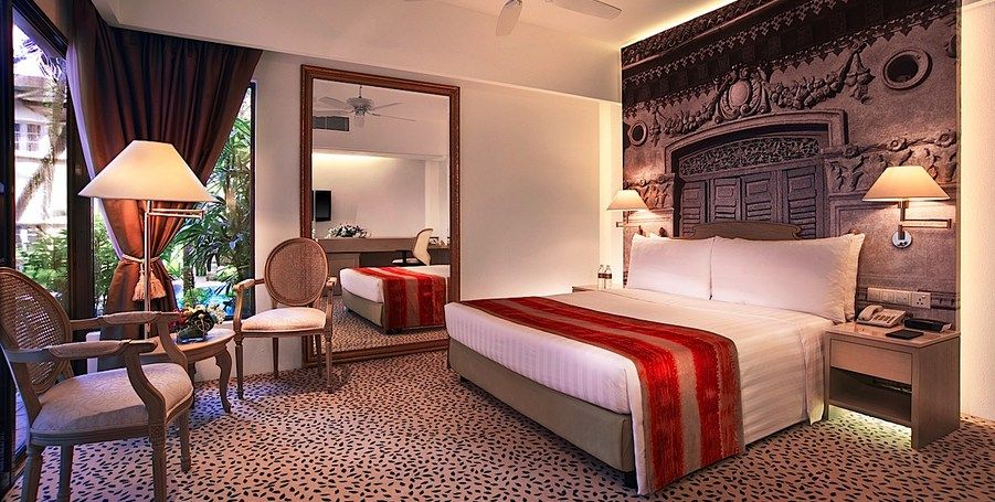 Accommodation In Singapore Deluxe Poolside Room Hotels Room