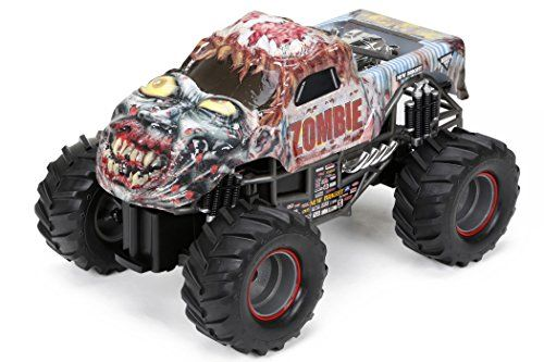 New Bright Rc Ff Monster Jam Zombie 115 Scale Want To Know More Click On The Image Note Amazon Affiliate L With Images Zombie Vehicle Monster Truck Toys Monster Jam