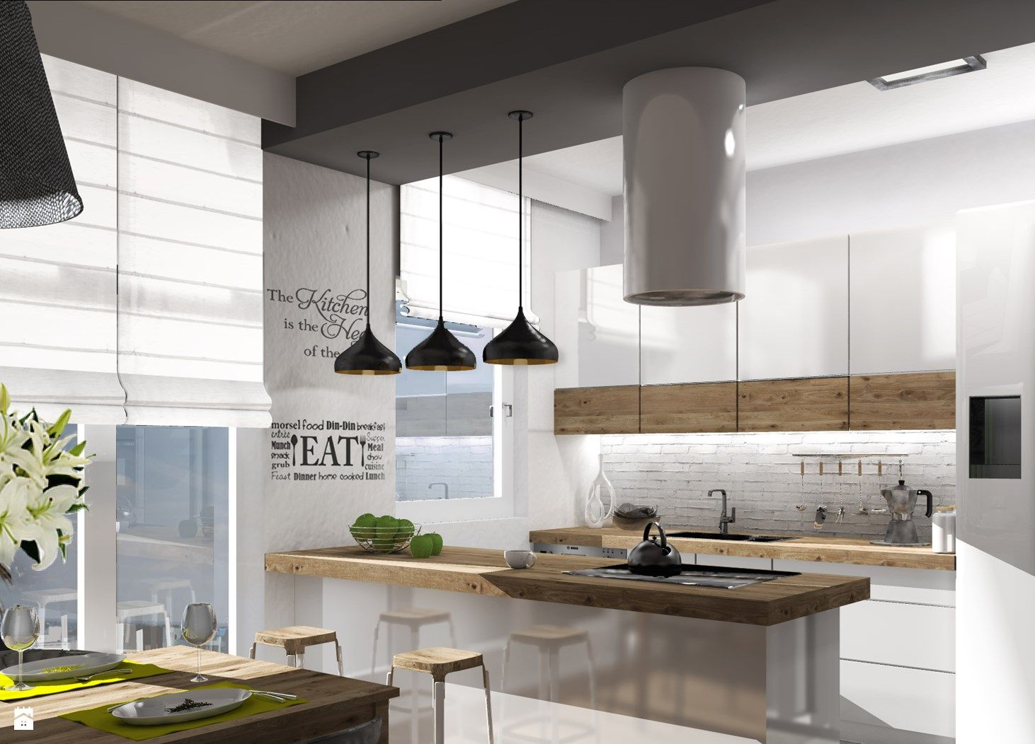 Küchendesign u-typ zdjęcie kuchnia  kuchnia  pinterest  kitchens interiors and