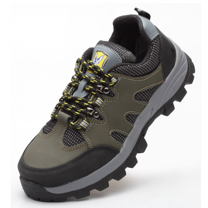 Mens Hiking Shoe - Waterproof Quick Dry Steel Toe Protection Baotou Shoes