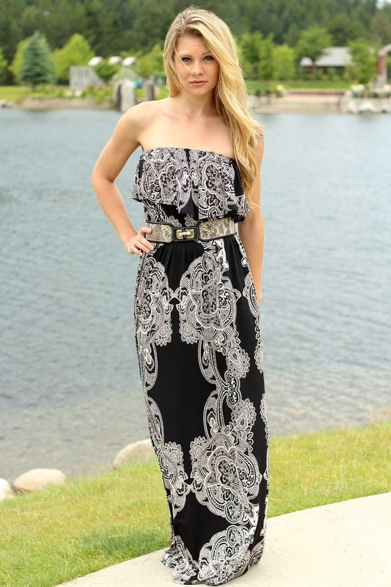 fcce5f9280a82 LACEY'S FAVORITE STRAPLESS MAXI | Summer Maxi Dresses | Trendy ...