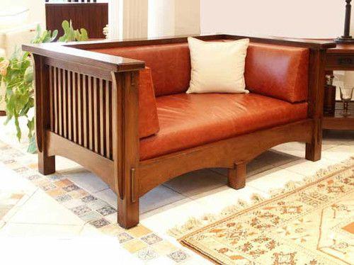 Loveseat Craftsman Furniture Craftsman Style Furniture Mission