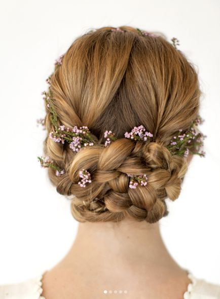 Wedding Hairstyle Inspiration – Hair and Makeup by Steph – MODwedding – Peinados facile