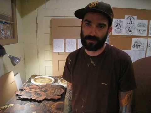 Jeremy Fish Studio Visit