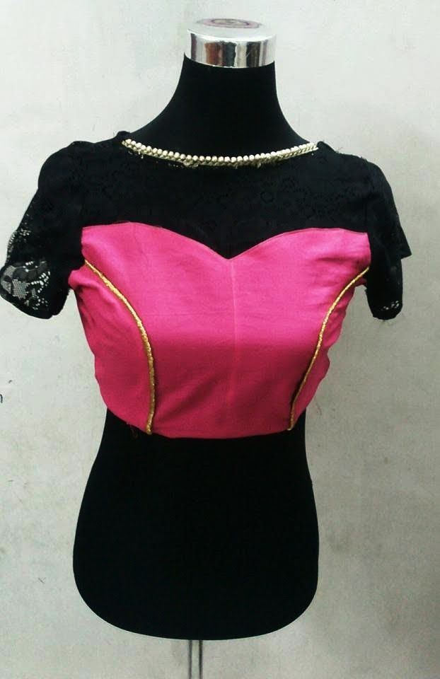 How to make Boat Neck Blouse with Princess Cut (DIY)