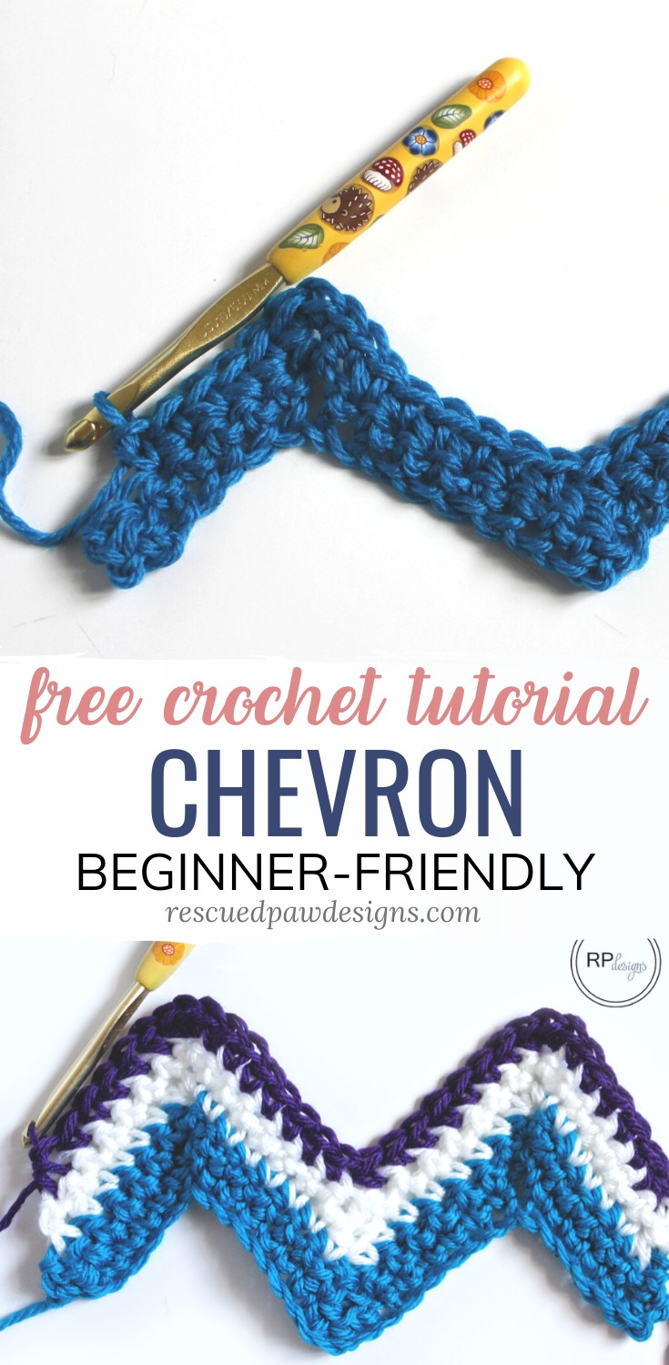 Free Chevron Crochet Tutorial Pattern #summersouthernfood