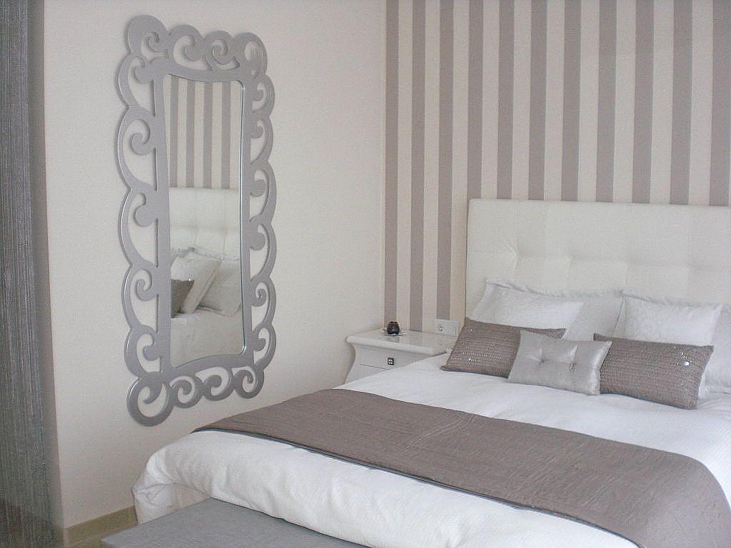 Papel pintado rayas buscar con google pinteres for Papel pared habitacion matrimonio
