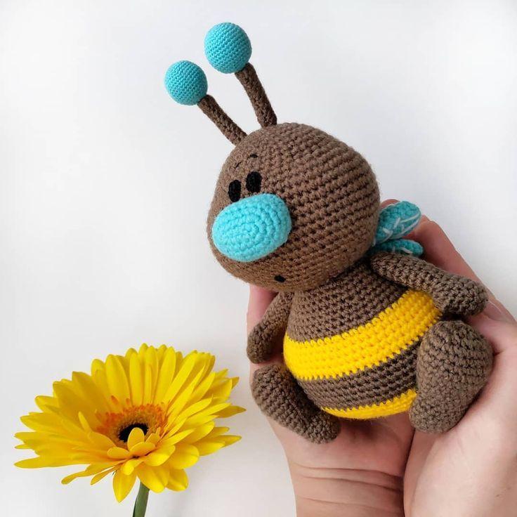 Амигуруми. Вязаные игрушки ... - #blumen #Амигуруми #Вязаные #игрушки #knittedtoys