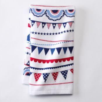 Americana Bunting Flag Kitchen Towel Bunting Flags Bunting