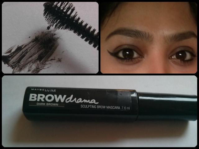 b3b56bad9da Maybelline Brow Drama Sculpting Brow Mascara in Dark Brown | Makeup ...