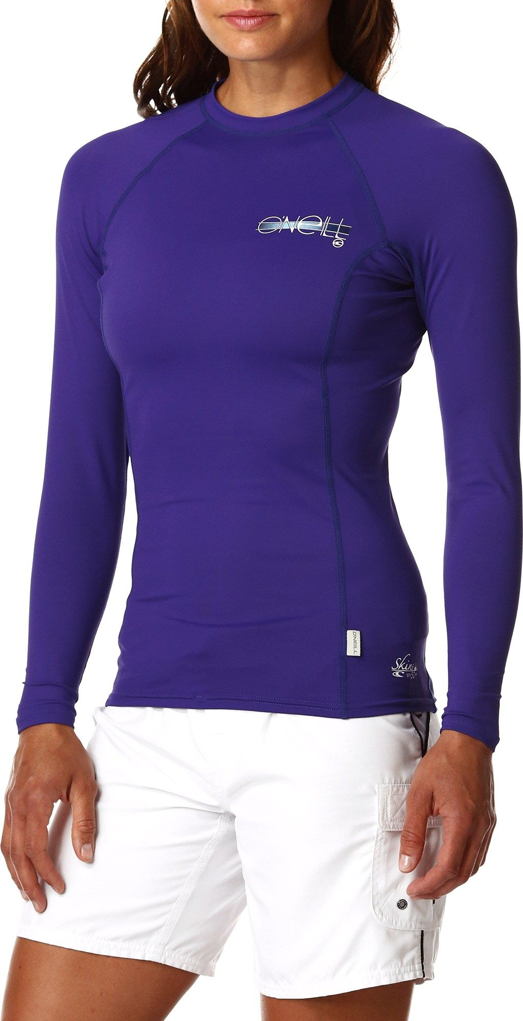 9ea87ed858 O'neill Female Skins Long-Sleeve Crew Rashguard - Women's | *Apparel ...