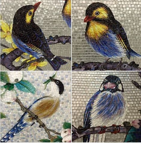 Mosaics by Mosaic China