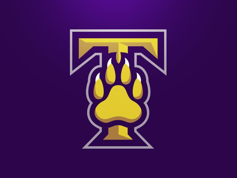 Tallahassee Pride Alternate Logo Sports logo design