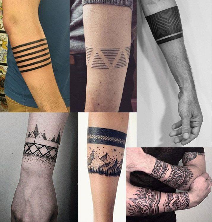Bracelet Arm Forearm Tattoos Polynesiantattoosforearm