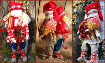 Из ткани, Как сделать, Мастер-класс, Оберег, Своими руками, Спиридон Солнцеворот, народные куклы, русские куклы, славянские куклы