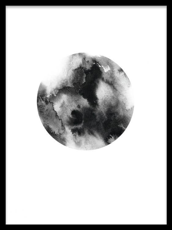 Black circle, poster ryhmässä Julisteet ja printit @ Desenio AB (7903)