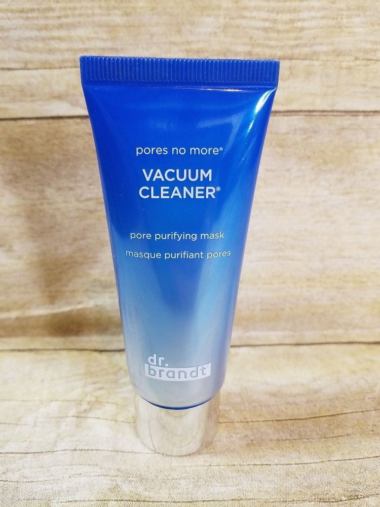 Dr Brandt Pores No More Vacuum Cleaner Pore Purifying Mask New Full Size 1 Oz Clean Pores Purifying Mask Boxycharm