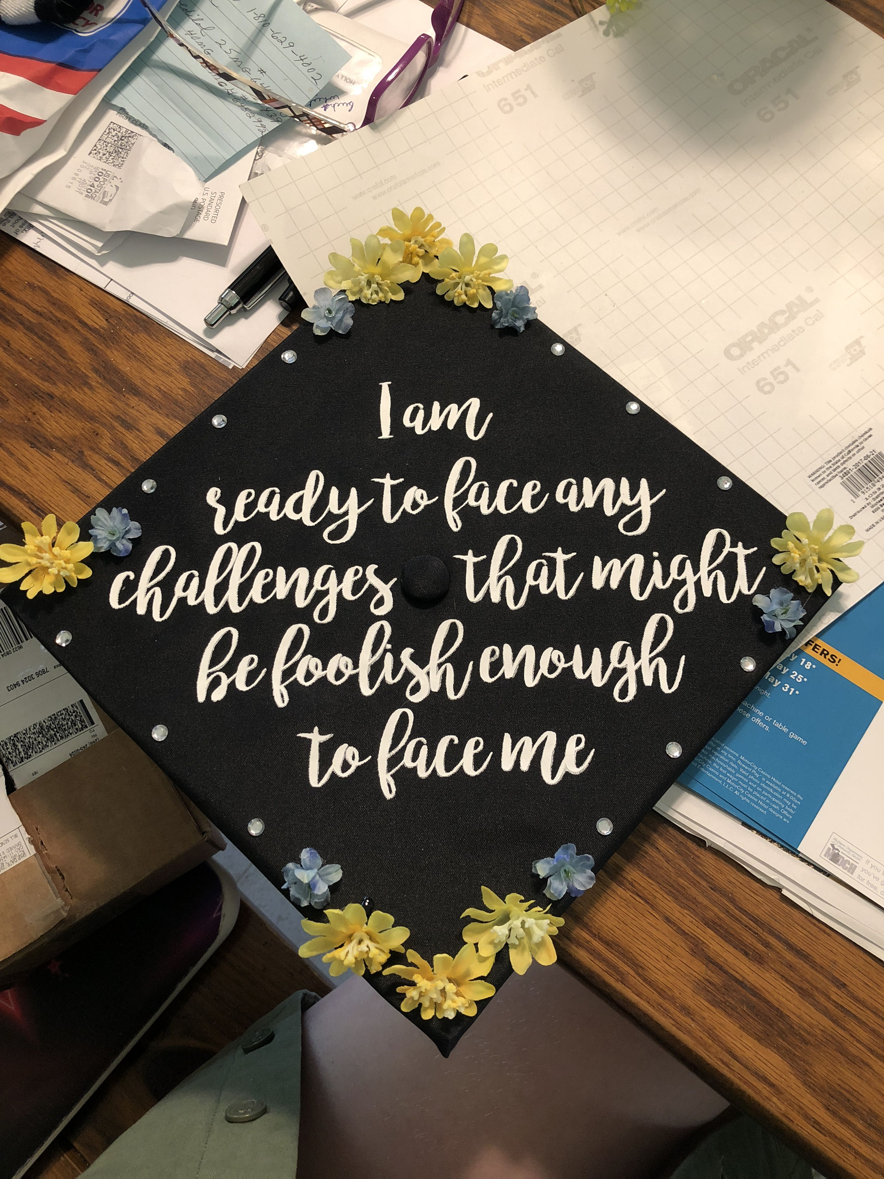 the office graduation cap | senior quotes | pinterest | grad cap