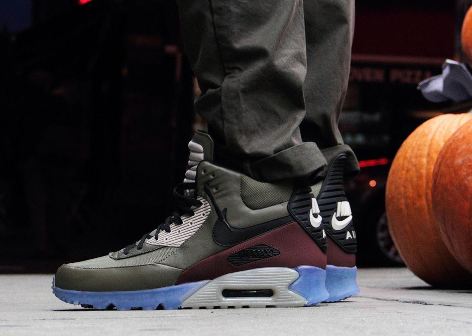 67dd534e8d Nike Air Max 90 Sneakerboot Ice