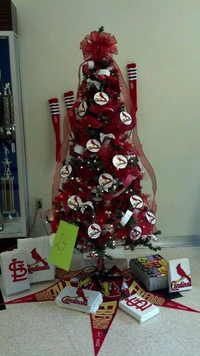 JCHS STL Cardinal Christmas Tree Contest - JCHS STL Cardinal Christmas Tree Contest Cardinals Baseball Stl