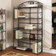 Bathroom Storage Iron Furniture Bakers Rack Kitchen Home Decor