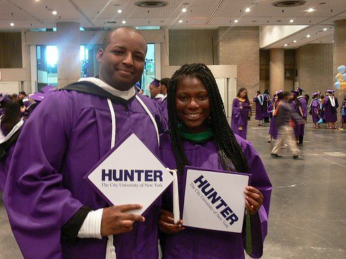 Hunter College | Students Representing Tassel Toppers, Class