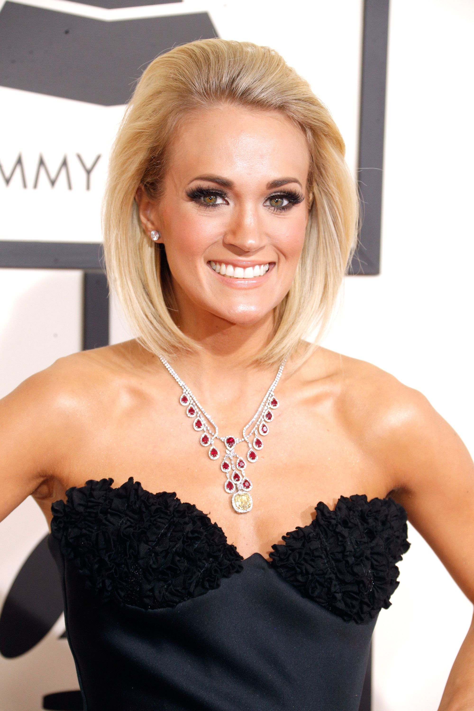 Carrie Underwood Gushes About Baby Son Isaiah At The Grammys