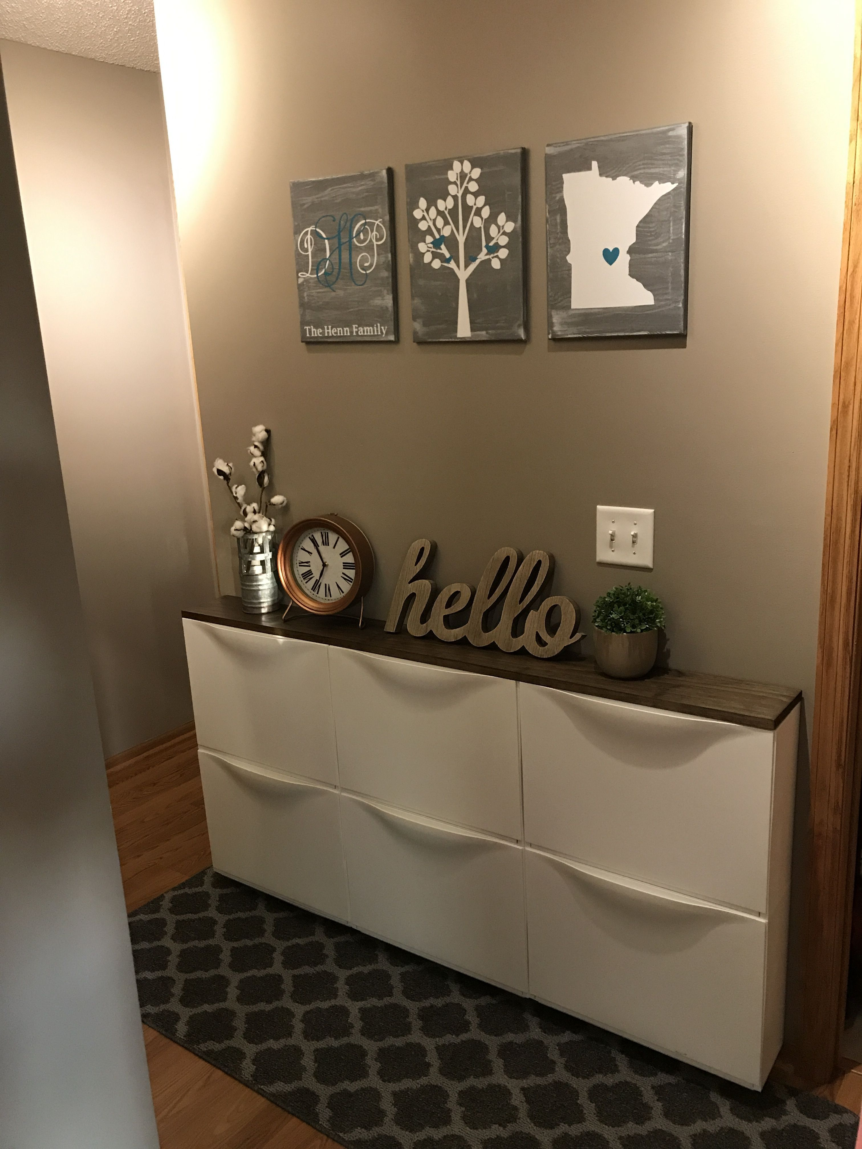 Best Pictures Ikea Trones Hack Entrance Hallway Ideas A Concept Goes Through The Blogs And Pages Of The Sys Ikea Storage Boxes Ikea Storage Ikea Hallway