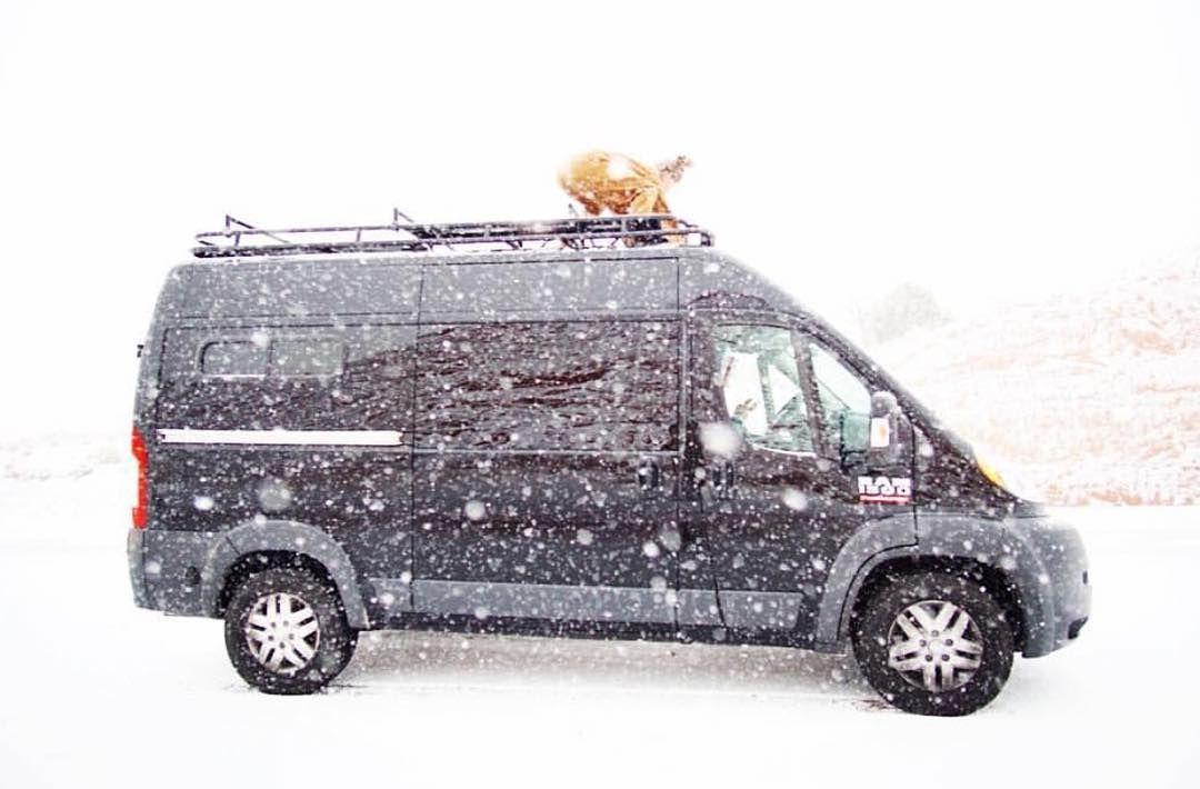 El Kapitan Van Conversion Dodge Promaster Van Conversion With Aluminess Roof Rack Gazebo Roof Roof Repair Roof Design