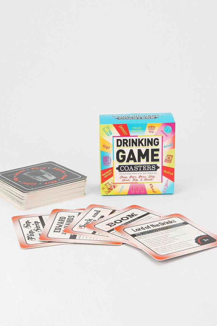 Drinking Game Coasters - Pack Of 50 | home sweet home | Pinterest