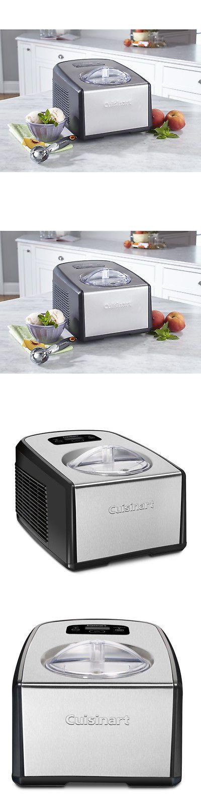 Ice Cream Makers 20676 Cuisinart Ice 100 Compresso Ice Cream And Gelato Maker Buy It Now Only 234 49 On Ebay Gelato Maker Ice Cream Makers Gelato