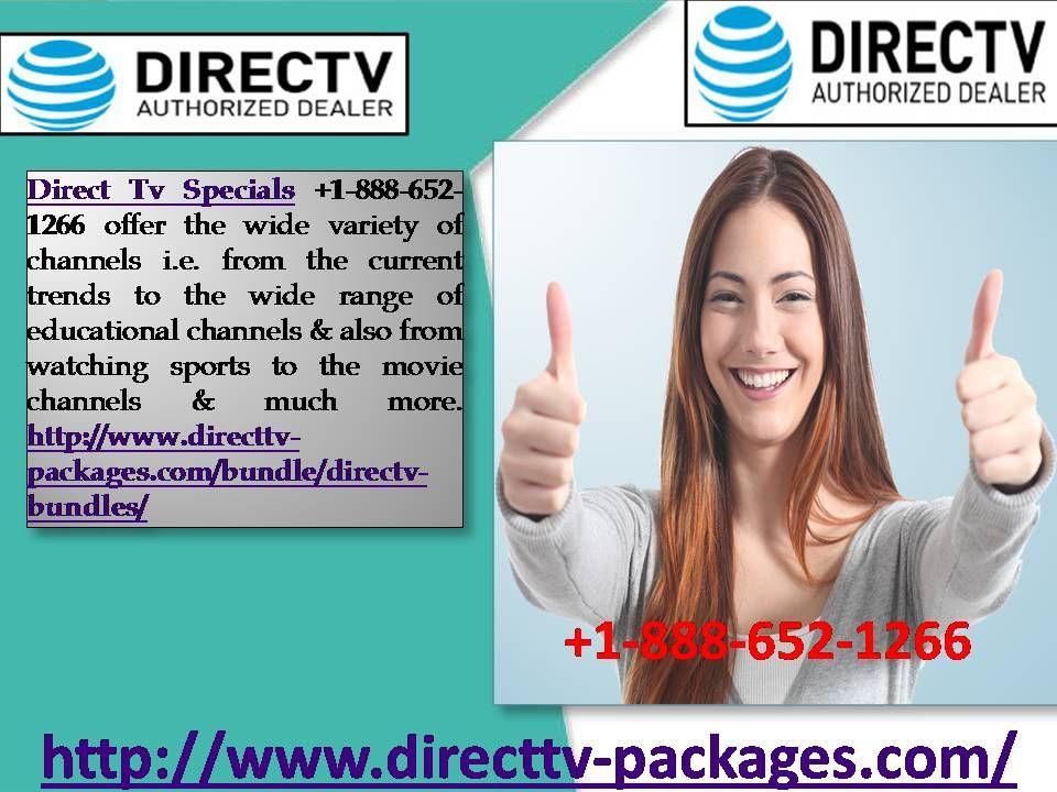 Advantages of Direct Tv Specials +18886521266