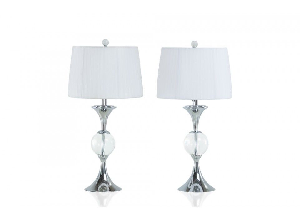 Set Of 2 Lansing Lamps Return To Hollywood Glam Bob S Discount