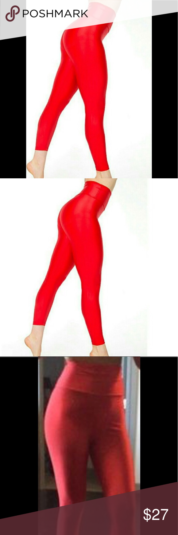 40d93d99da1b68 XS American Apparel high waist leggings American apparel Sz XS Form Fitted  (feel like compression