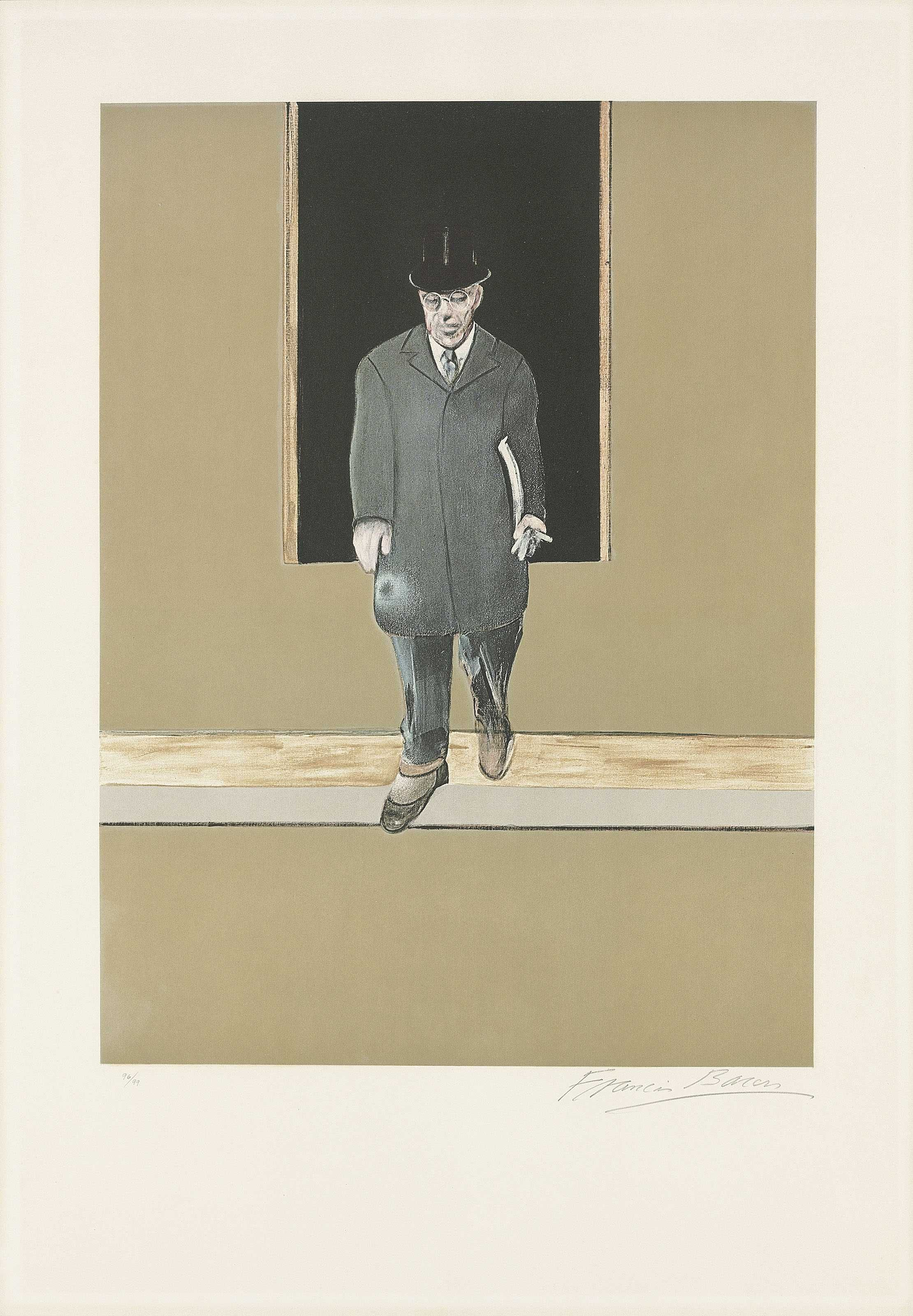Francis Bacon -CKS- Triptych 1986-1987 the set of three etchings and ...