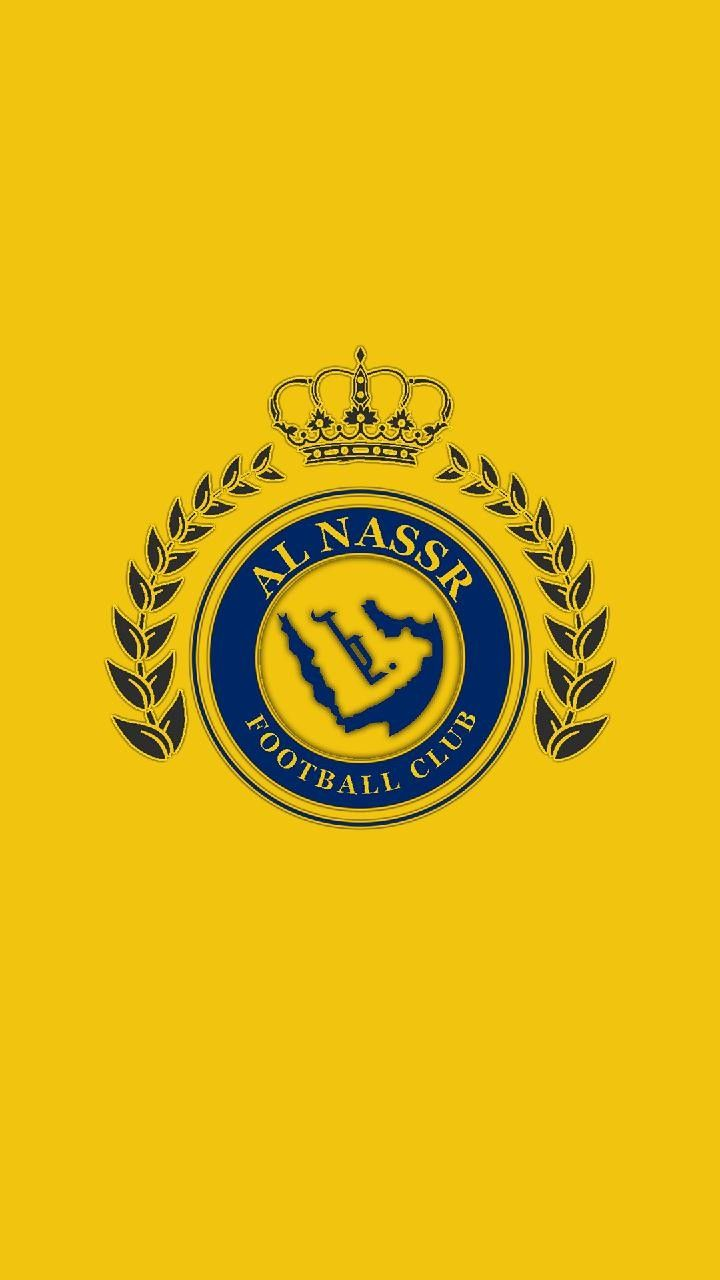 Al Nassr Football Logo Gaming Wallpapers 8k Wallpaper