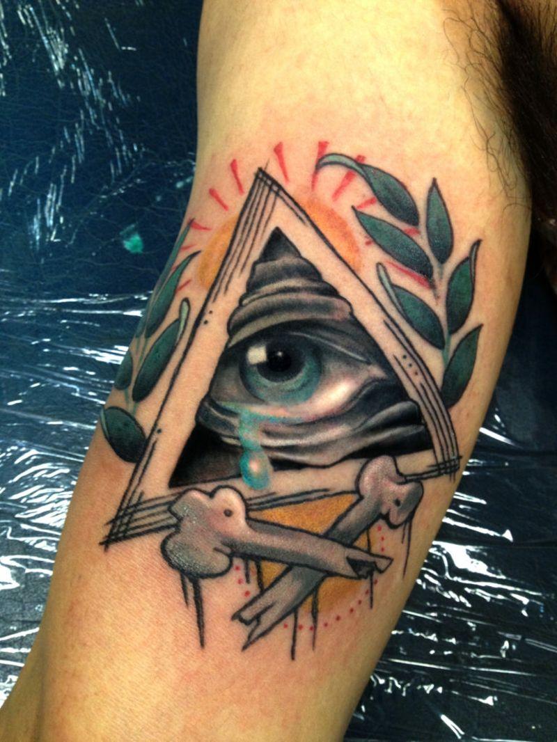 Augen Tattoo Design - Bedeutung und 33 tolle Beispiele - Tattoos - Auge Tattoo Bedeutung