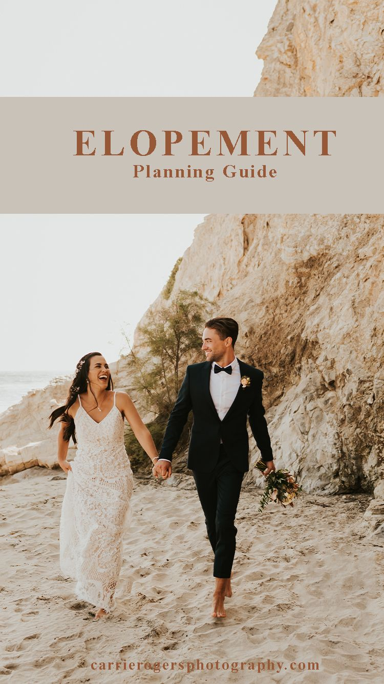 How to elope everything you need to know about planning