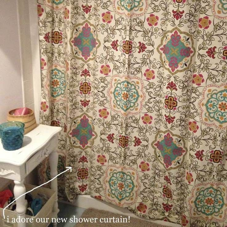 Cute New Bohemian Shower Curtain