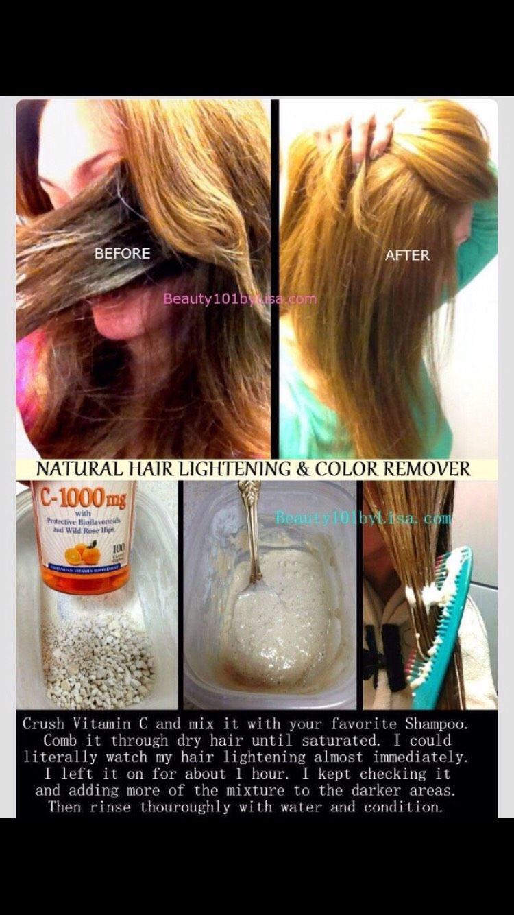How To Remove Colored Hair Into Natural Hair Color And Natural Beauty With Images Lighten Hair Naturally Lightening Dark Hair How To Lighten Hair