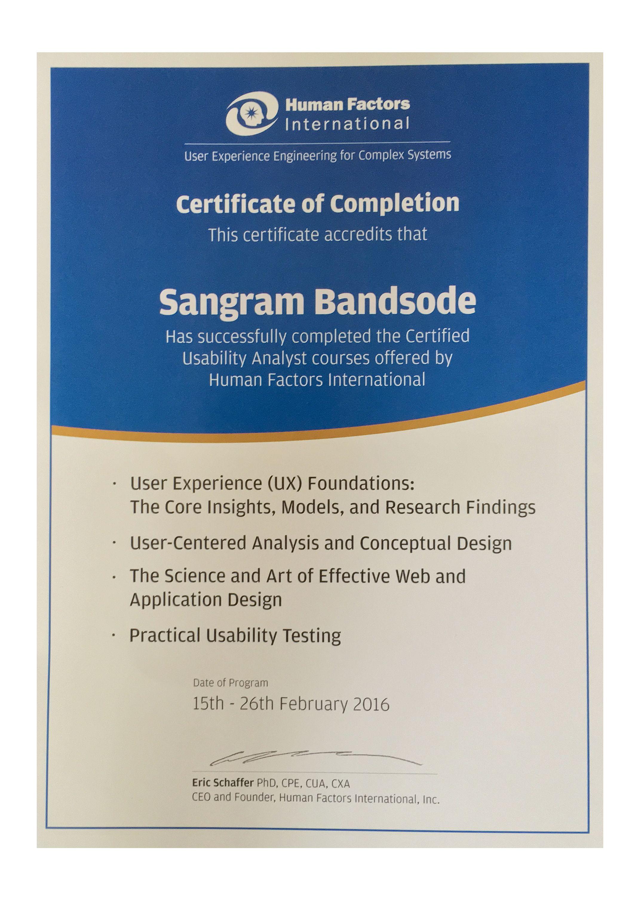 Rocc Certification Images Creative Certificate Design Inspiration