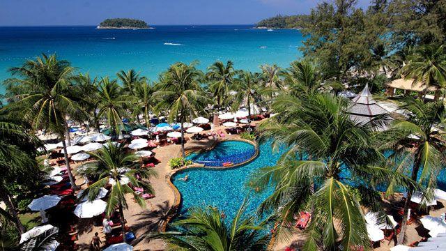 Kata Beach Resort Phuket Top View Phuket Travel Beaches In Phuket Beach Resorts