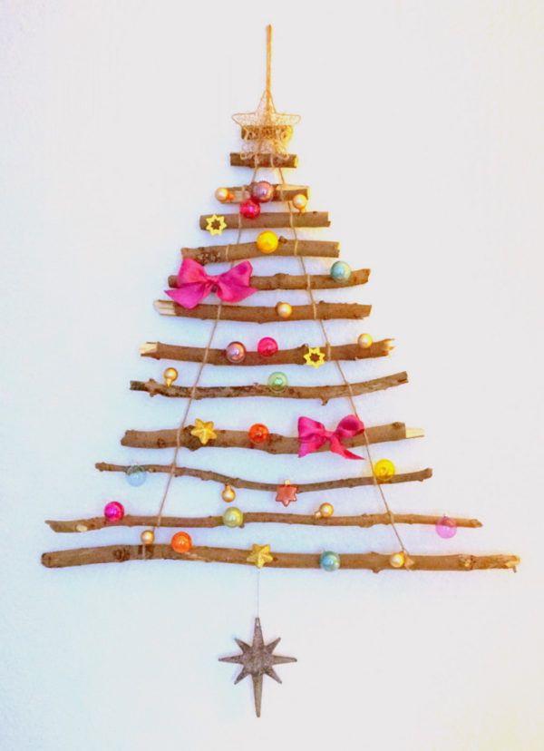 wiederverwendbarer weihnachtsbaum aus sten idei. Black Bedroom Furniture Sets. Home Design Ideas
