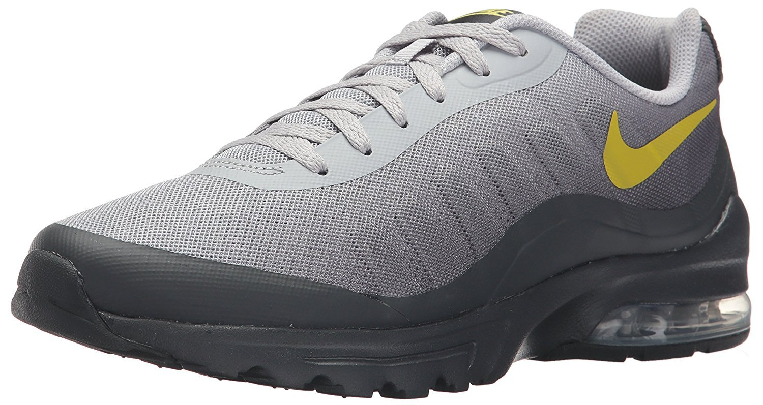Details about Nike Mens Air Max Trainers, Nike Invigor Mens Air Max Trainers Sports Shoe Grey