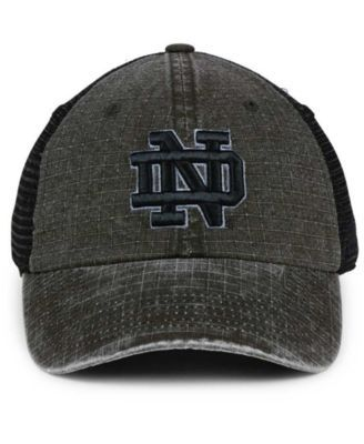 size 40 a86cf ade75 Top of the World Notre Dame Fighting Irish Ploom Adjustable Cap - Black  Adjustable