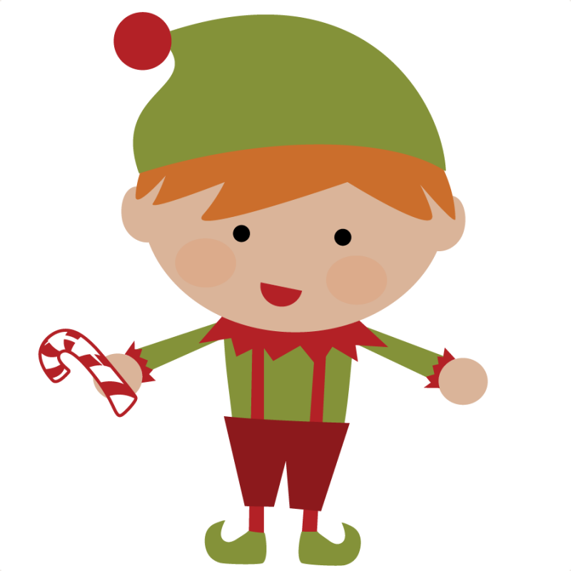 50 Cents Elf SVG File For Scrapbooking Cute Christmas Svg Cut