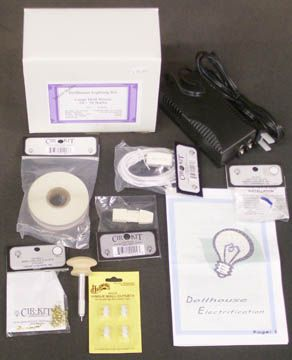 instructions for different types of wiring for the dollhouse wiring rh pinterest com Dollhouse Lighting Wiring Kit Dollhouse Wiring Tips