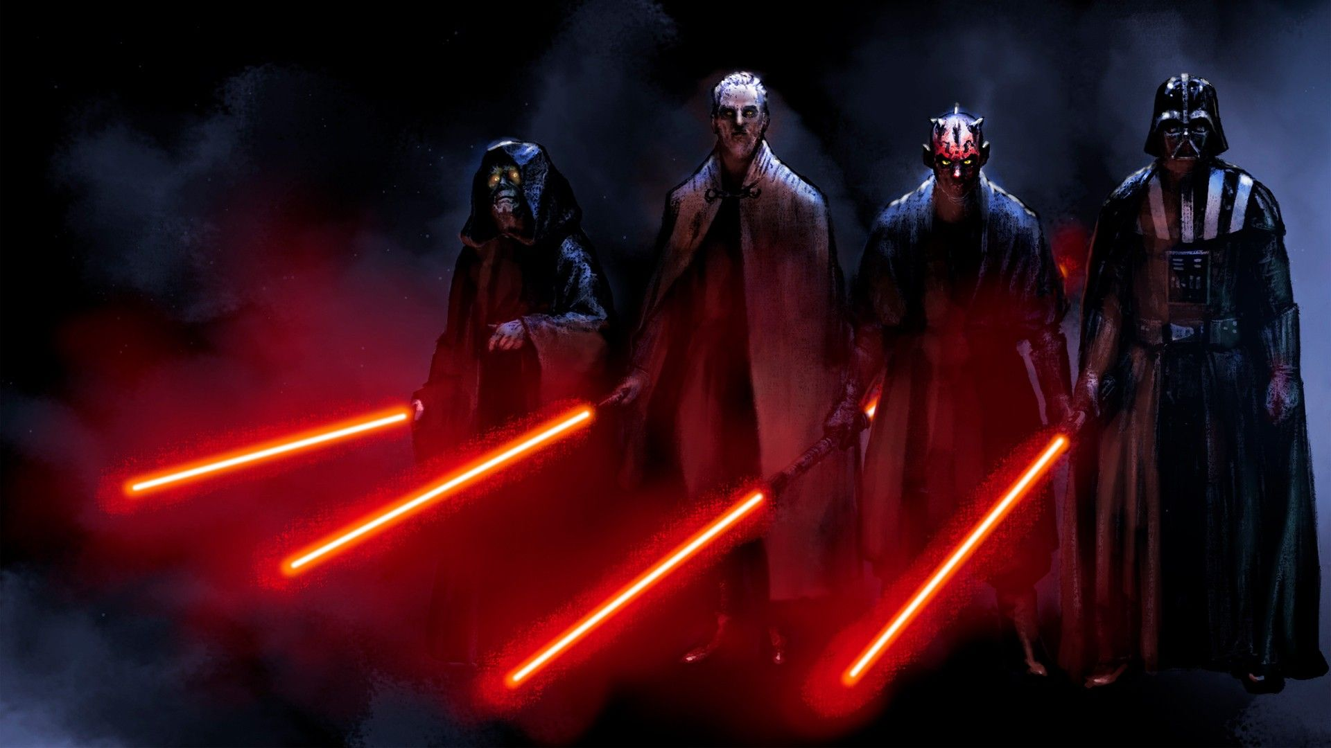 Star Wars Red Darth Maul Lightsabers Darth Vader Sith Dark Side